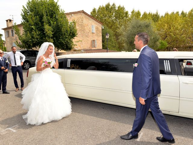 Le mariage de Julien et Julia à Le Rouret, Alpes-Maritimes 13