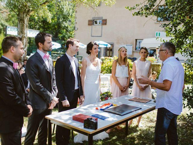 Le mariage de Luc et Sophie à Montaigut-le-Blanc, Puy-de-Dôme 18