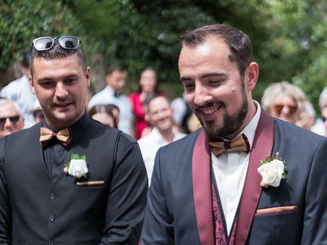 Le mariage de Eric et Rhéa à Saint-Maurice-sur-Dargoire, Rhône 2
