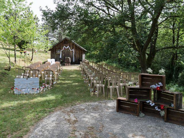 Le mariage de Eric et Rhéa à Saint-Maurice-sur-Dargoire, Rhône 8