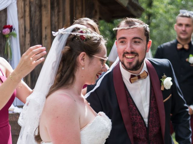Le mariage de Eric et Rhéa à Saint-Maurice-sur-Dargoire, Rhône 9