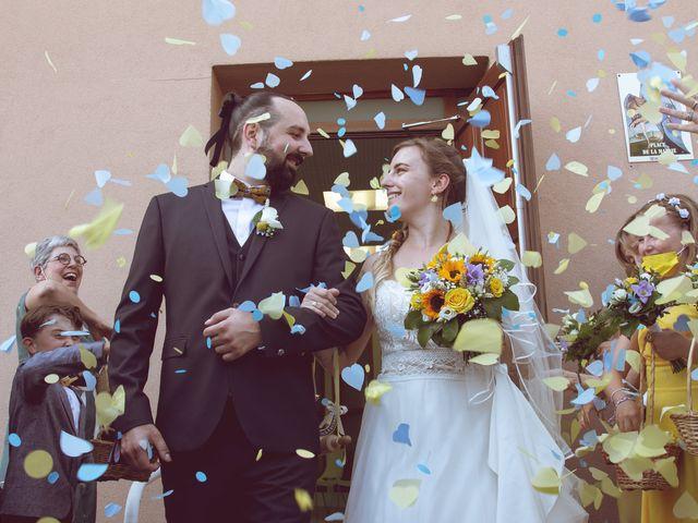 Le mariage de Matthias et Daphne à Labessière-Candeil, Tarn 3