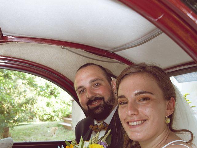 Le mariage de Matthias et Daphne à Labessière-Candeil, Tarn 6