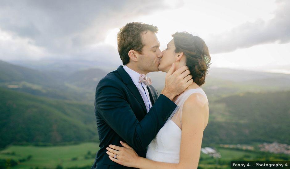 Le mariage de Luc et Sophie à Montaigut-le-Blanc, Puy-de-Dôme