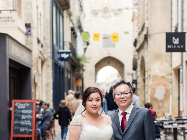 Le mariage de Henri et Dawn à Bordeaux, Gironde 11