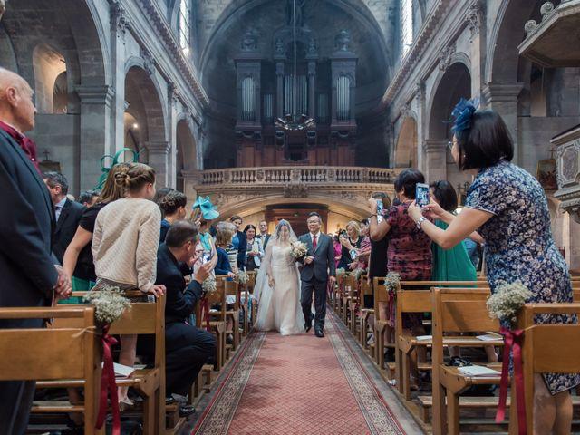 Le mariage de Henri et Dawn à Bordeaux, Gironde 15