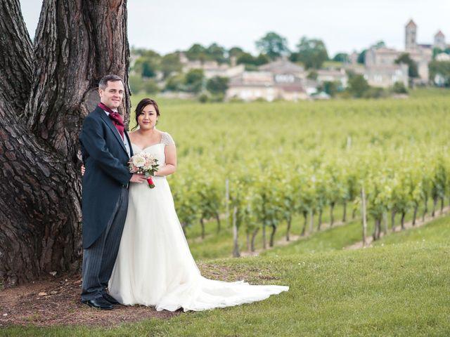 Le mariage de Henri et Dawn à Bordeaux, Gironde 33
