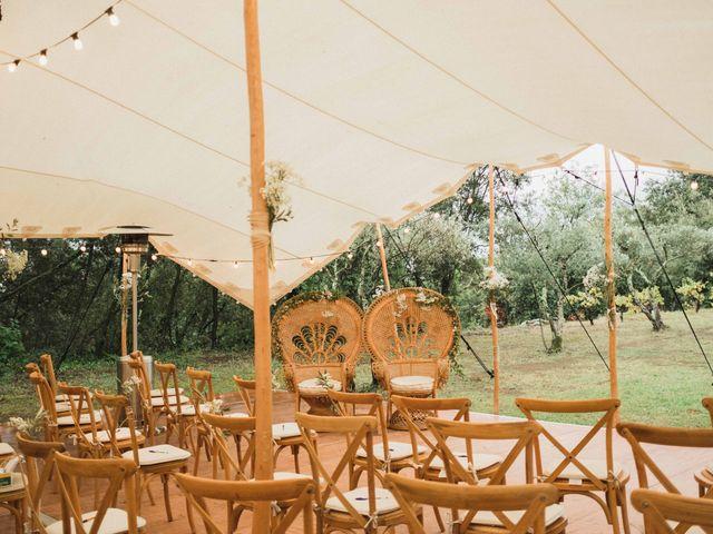 Le mariage de Wilfreid et Delphine à Saint-Félix-de-Pallières, Gard 1