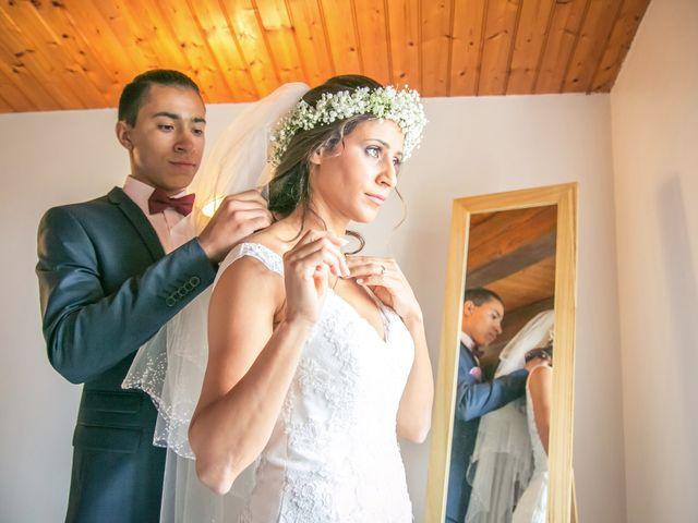 Le mariage de Joffrey et Amal à Saint-Porchaire, Charente Maritime 5