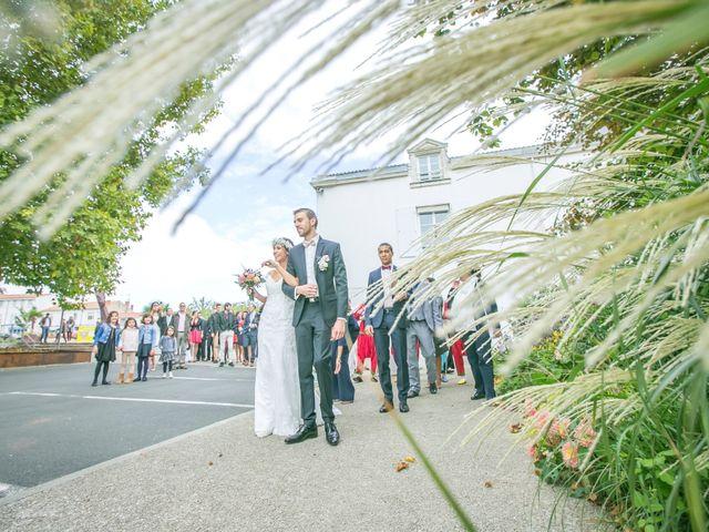 Le mariage de Joffrey et Amal à Saint-Porchaire, Charente Maritime 8