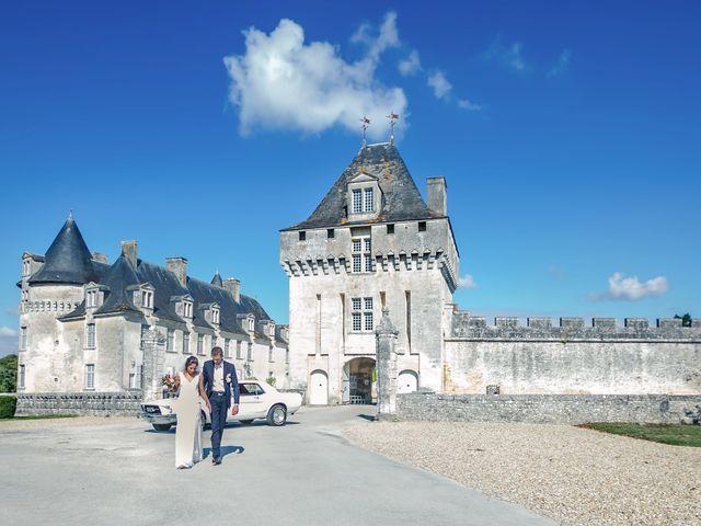 Le mariage de Joffrey et Amal à Saint-Porchaire, Charente Maritime 21