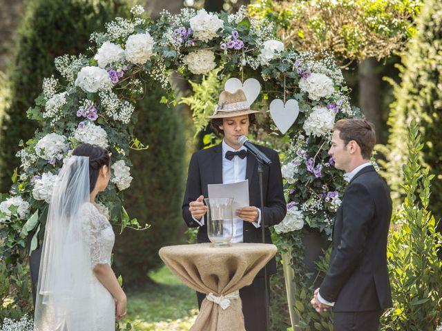 Le mariage de Jean Marc et Jia à Villebois, Ain 7