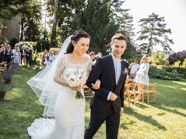 Le mariage de Jean Marc et Jia à Villebois, Ain 14