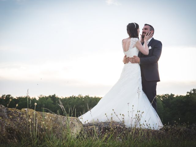 Le mariage de Jordane et Morganne à Fouchères, Aube 44