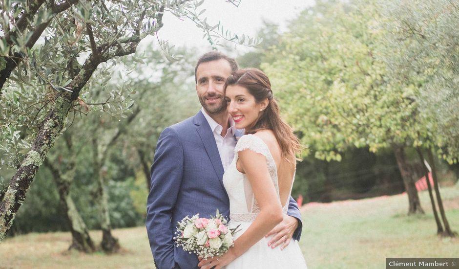 Le mariage de Wilfreid et Delphine à Saint-Félix-de-Pallières, Gard