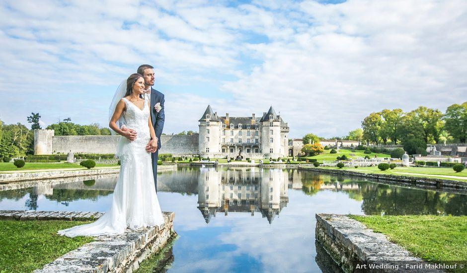 Le mariage de Joffrey et Amal à Saint-Porchaire, Charente Maritime