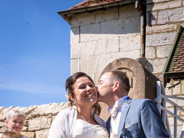 Le mariage de Franck et Laura à Pugey, Doubs 1