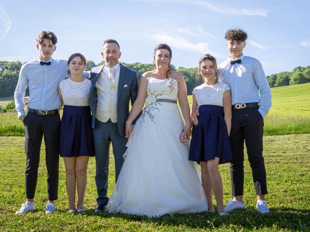 Le mariage de Franck et Laura à Pugey, Doubs 60