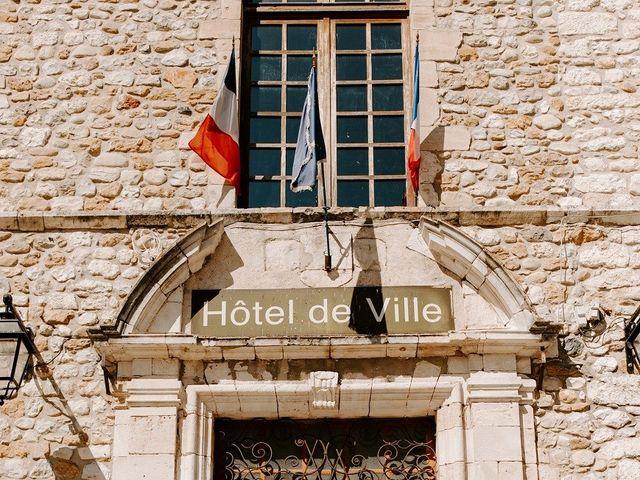 Le mariage de Ronnie et Fanny à Vallon-Pont-d'Arc, Ardèche 9