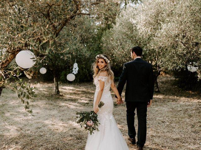 Le mariage de Ronnie et Fanny à Vallon-Pont-d'Arc, Ardèche 36