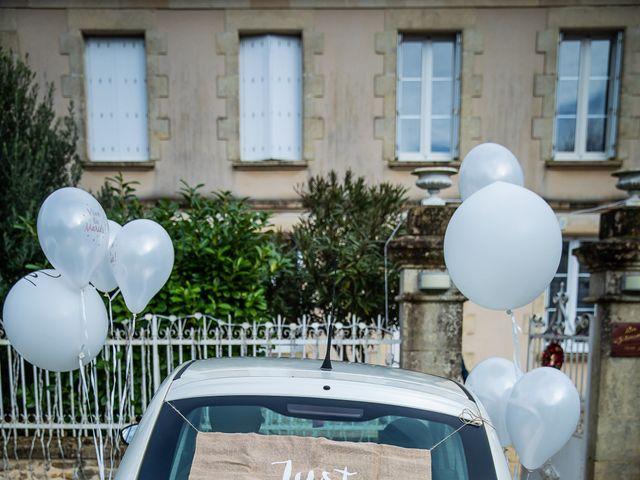 Le mariage de Alexis et Gwenaëlle à Échiré, Deux-Sèvres 15