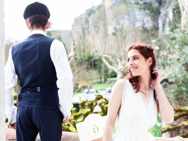 Le mariage de Mélanie et Arnaud à Saint-Cirq-Lapopie, Lot 2