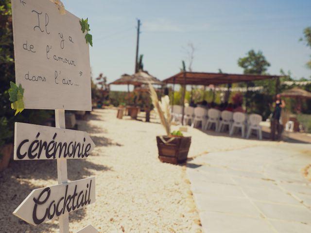 Le mariage de Guillaume et Cécile à Marguerittes, Gard 2