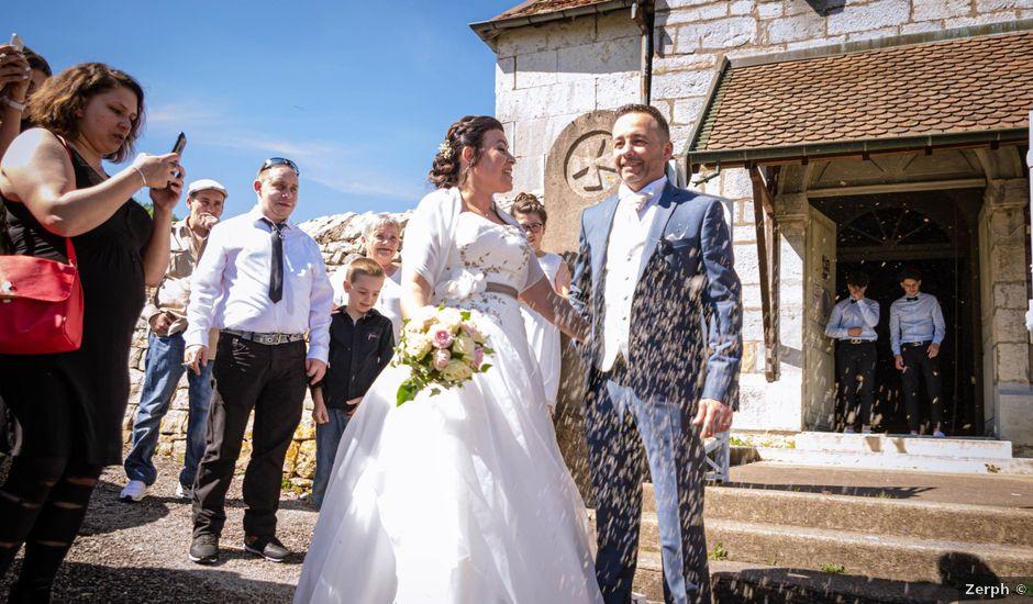 Le mariage de Franck et Laura à Pugey, Doubs