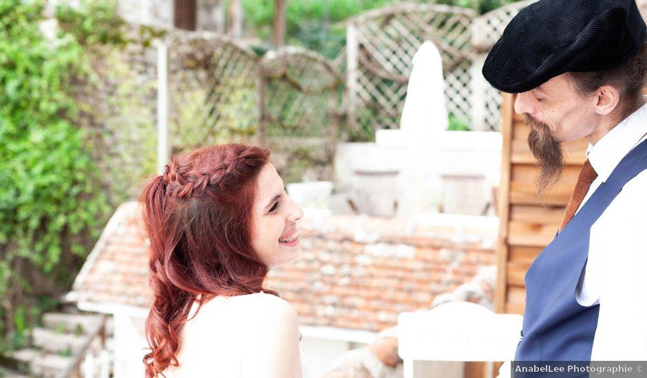 Le mariage de Mélanie et Arnaud à Saint-Cirq-Lapopie, Lot