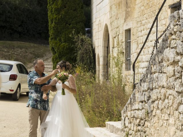 Le mariage de FERRAO  et Melissa  à Chancelade, Dordogne 18