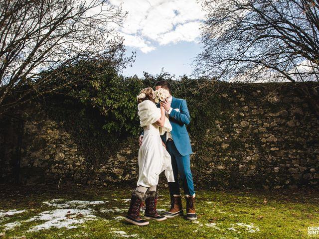 Le mariage de Cédric et Camille à Saint-Sixt, Haute-Savoie 2