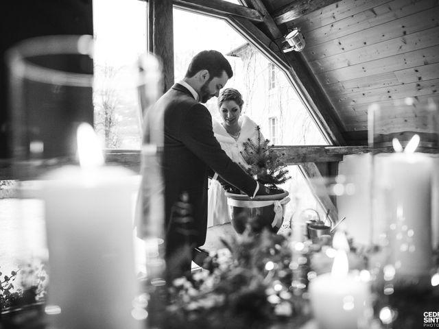 Le mariage de Cédric et Camille à Saint-Sixt, Haute-Savoie 5