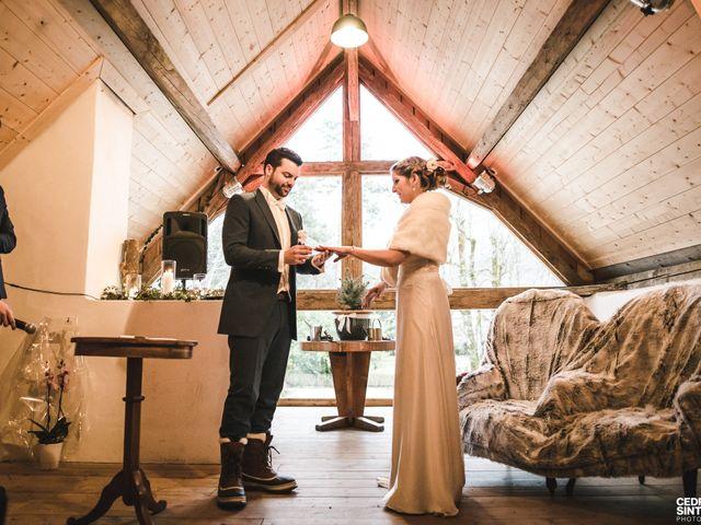 Le mariage de Cédric et Camille à Saint-Sixt, Haute-Savoie 6