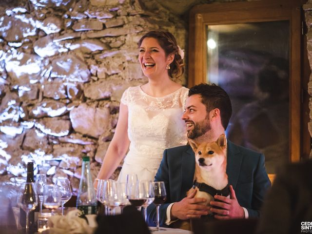 Le mariage de Cédric et Camille à Saint-Sixt, Haute-Savoie 10