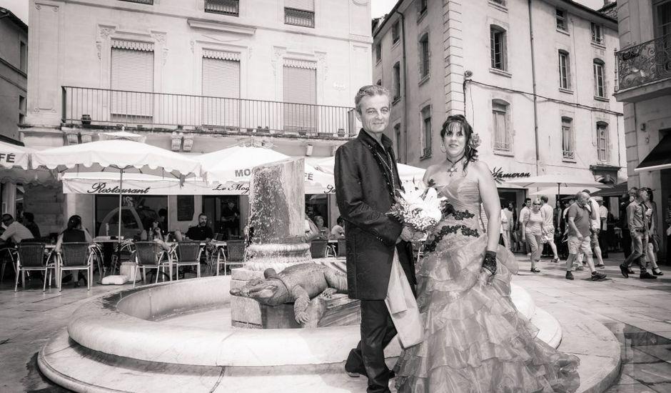 Le mariage de Thierry et Sabine  à Nîmes, Gard
