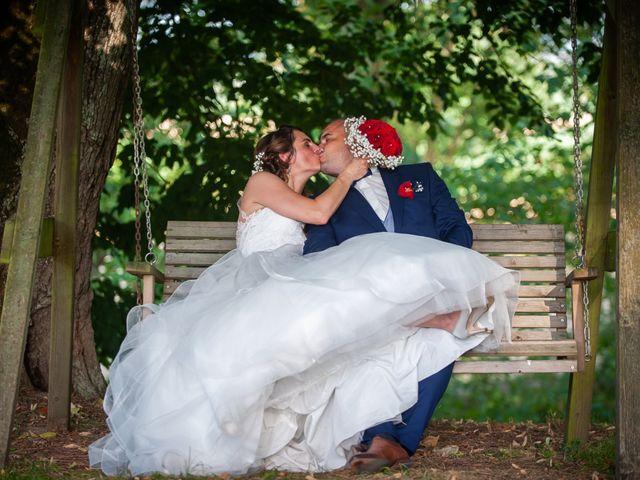 Le mariage de Chris et Sandy à Damazan, Lot-et-Garonne 11