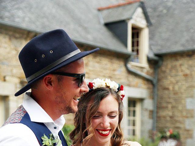 Le mariage de Benjamin et Carole à Hénon, Côtes d'Armor 4