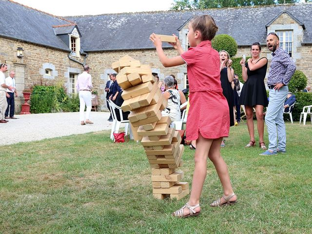 Le mariage de Benjamin et Carole à Hénon, Côtes d'Armor 17