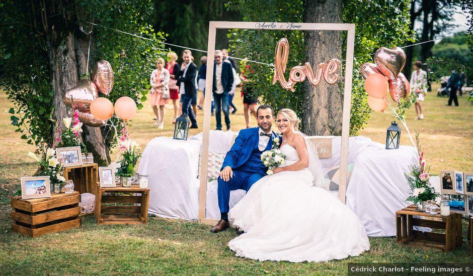 Le mariage de Samir et Aurélie à Forges-les-Eaux, Seine-Maritime