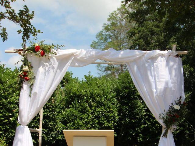 Le mariage de David et Claudine à Saint-Côme, Gironde 3