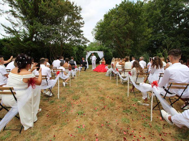 Le mariage de David et Claudine à Saint-Côme, Gironde 1