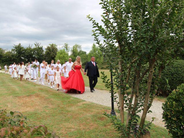 Le mariage de David et Claudine à Saint-Côme, Gironde 12