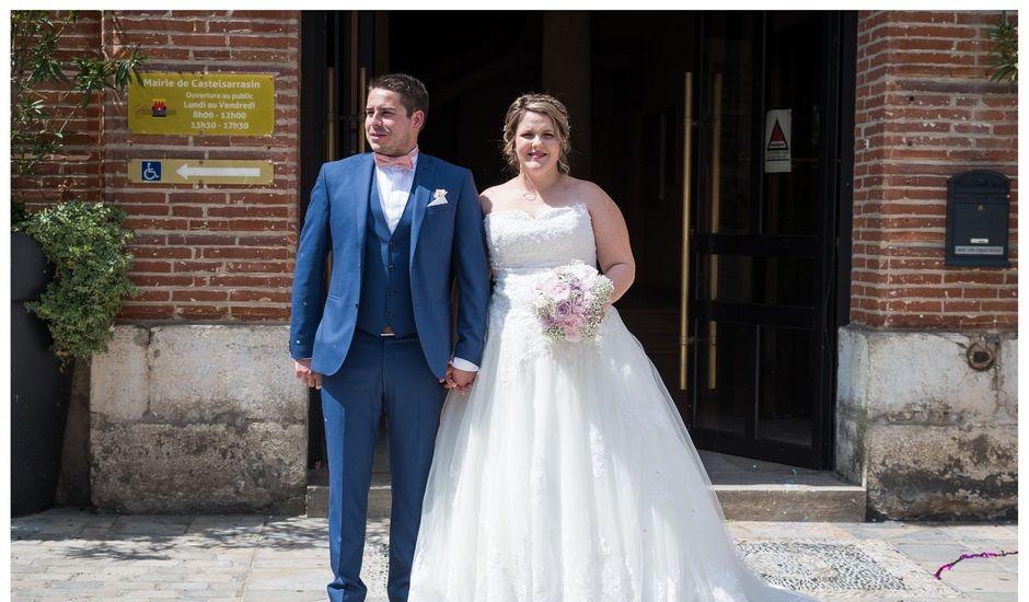 Le mariage de Guillaume  et Anais à Castelsarrasin, Tarn-et-Garonne