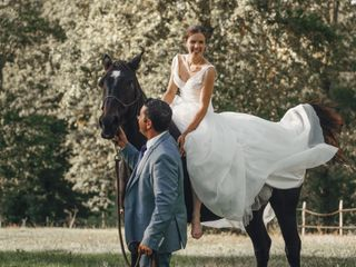 Le mariage de Bérénice et Thomas 1