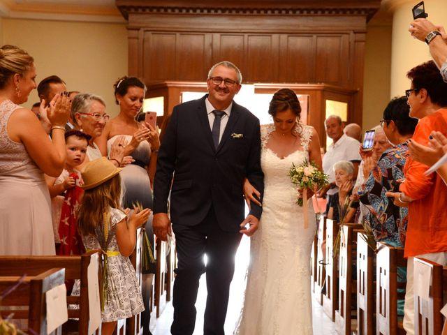 Le mariage de Cedric et Delphine à Le Perréon, Rhône 45