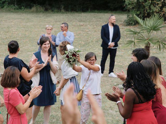 Le mariage de Thomas et Bérénice à Créon, Gironde 53