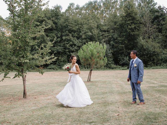 Le mariage de Thomas et Bérénice à Créon, Gironde 78
