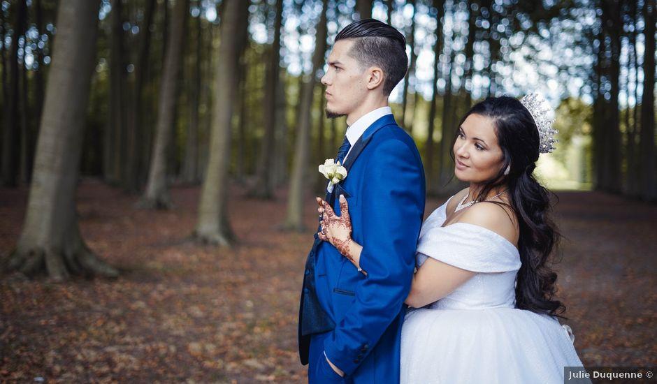 Le mariage de Maxence et Fouzia à Lille, Nord