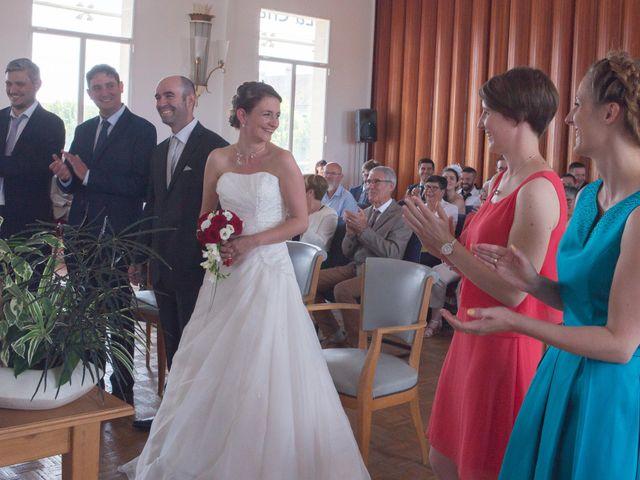 Le mariage de Mickaël et Marie-Charlotte à La Motte-Tilly, Aube 12