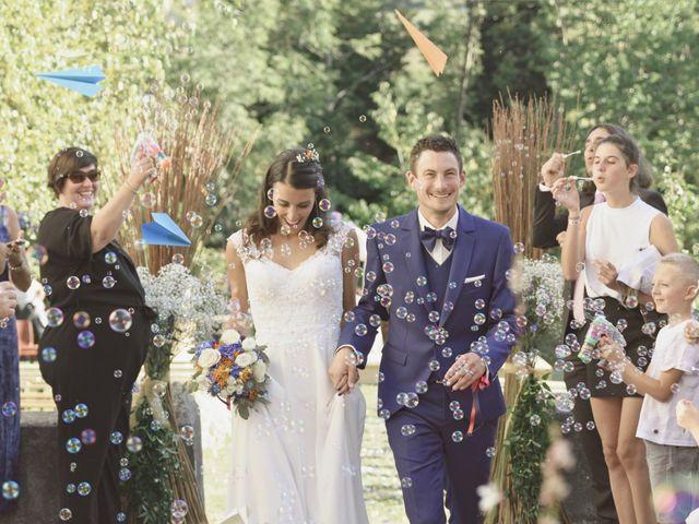 Le mariage de Arnaud et Marine à Habère-Poche, Haute-Savoie 43